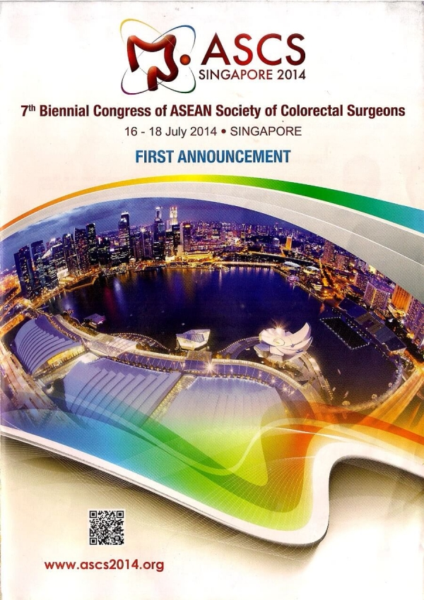 7th Bennial Congress Asean Society of Colorectal Surgeons