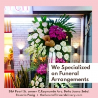 We Specialize On Funeral Flower Arrangement. Best Funeral Flowers with Free Flower Delivery In Metro Manila Philippines